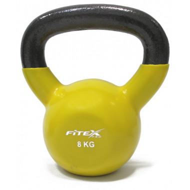 Гиря в виниловой оболочке 8 кг FITEX PRO