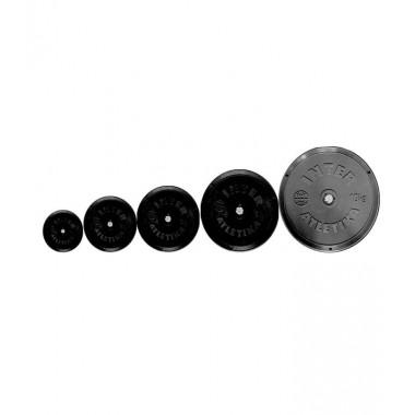 Диск черный пластикат 1 кг V-SPORT