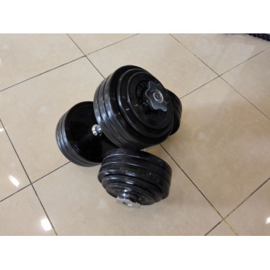 Гантели тренировочные 20 кг ( 2 шт. - пара )
