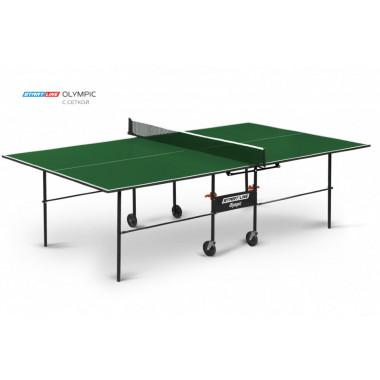 6021-2 тен. стол Startline Olympic с сеткой GREEN
