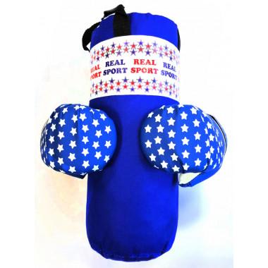 Набор боксерский МИНИ RS250, синий