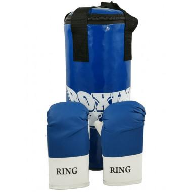 Набор боксерский ЮНИОР (мешок 45см, перчатки тренировочные)