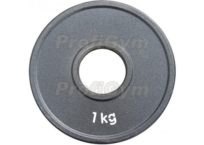 ДПЛ-1. Диск стальной «Powerlifting» с полимерным покрытием, 1 кг