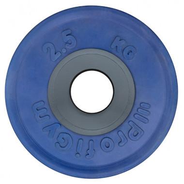 ДОЦ-2,5/51. Диск для штанги олимпийский 2,5 кг, синий