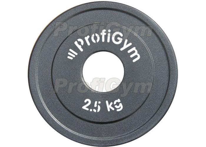 ДПЛ-2,5. Диск стальной «Powerlifting» с полимерным покрытием, 2,5 кг