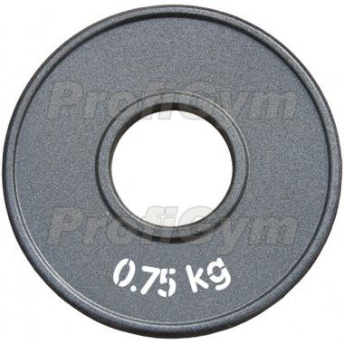 ДПЛ-0,75. Диск стальной «Powerlifting» с полимерным покрытием, 0,75 кг