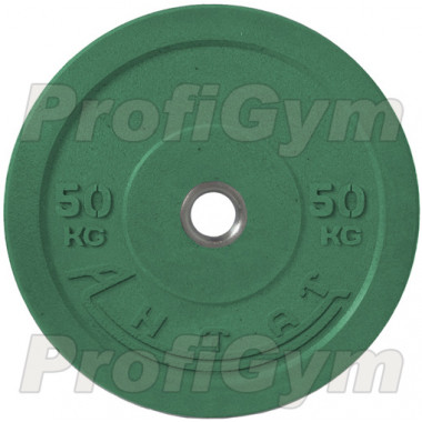 Диск для кроссфита (бампер) цветной 50 кг