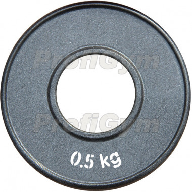 ДПЛ-0,5. Диск стальной «Powerlifting» с полимерным покрытием, 0,5 кг