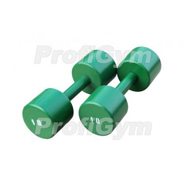 ГНП-10. Гантель «ProfiGym» неразборная с полимерным покрытием, 10 кг