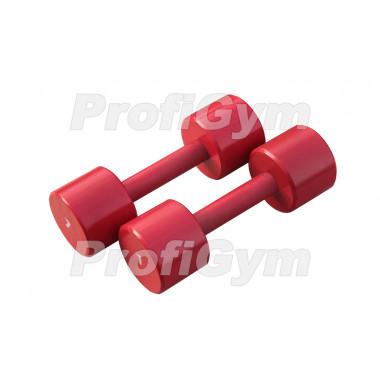 ГНП-7. Гантель «ProfiGym» неразборная с полимерным покрытием, 7 кг