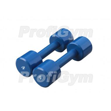 ГНП-4. Гантель «ProfiGym» неразборная с полимерным покрытием, 4 кг
