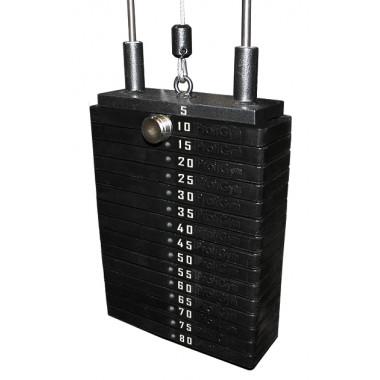 Грузовый стек для тренажеров 70 кг