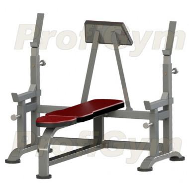 2СК-0050-H. Скамья с упорами и упором для партнера усиленная