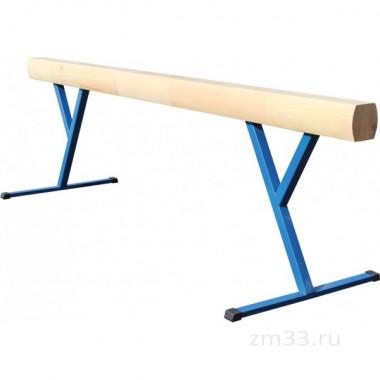 Бревно гимнастическое деревянное высокое 3 х 0,13 х 0,16 м
