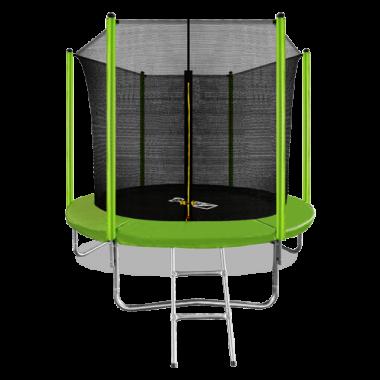 ARLAND Батут  8FT с внутренней страховочной сеткой и лестницей